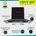 Smiley 90 BK Ventair Kitchen Chimney