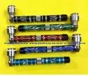 ACRYLIC  Metal Smoking Pipes