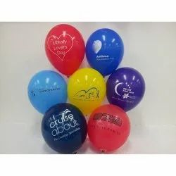 Multi Color Balloon Printing Services