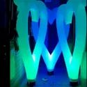 Inflatable Heart Entry Gate