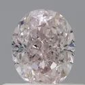 Oval 0.51 CT SI2 Very Light Pink GIA Certified Natural Diamond
