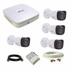 Gobbler Plastic CP Plus HD Technology CCTV Setup, for Indoor Use