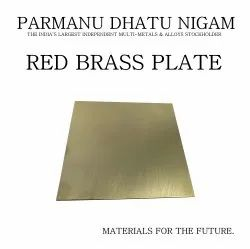 Red Brass Plate
