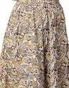 Jaipur Kurti Women Brown Ethnic Motifs Straight Cotton Skirt