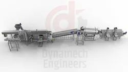 Heat Exchanger Based Continuous Fryer