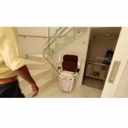 120 Kg Curved Staircase Lift, Capacity: 1 Person