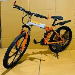 Lamborghini Orange Foldable Cycle