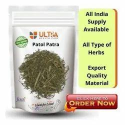 Raw Hearb Green Patol PATRA Herb, Packaging Type: Plastic Bag, Packaging Size: 100 Gram