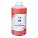 Orange 5 Pigment Paste For Paper Industry