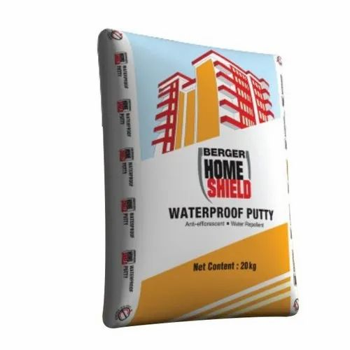 Berger Home Shield Waterproof Putty At Rs 1180 Bag Berger Wall Putty Id 22907675512