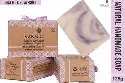 Handmade Goat Milk And Lavender Soap