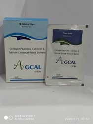 Collagen Peptide Calcitrol Calcium Citrate Maleate Sachet