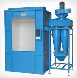 Batch Type Powder Coating Booth, Electrical,Oil & Gas, Automation Grade: Automatic