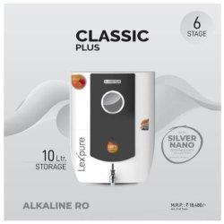 Lexpure Classic Plus RO+Alkaline+SN+TDS Control Water Purifier, 10 L