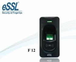 eSSL F12 Fingerprint Based Plastic Biometric Exit Reader (Black and Silver)