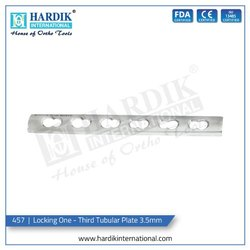 Locking One - Third Tubular Plate 3.5mm