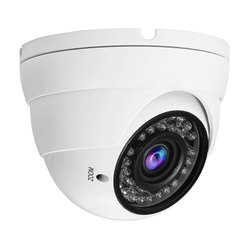 Zoom White Dome CCTV Camera, Camera Range: 10 to 15 m