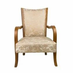 31x24x26 Inches 150 Kg Wlipsy Fabric Arm Chair with Tufted Back
