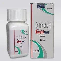 Gefitinib Geftinat 250 Mg Tablets, Natco