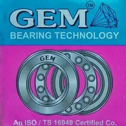 Gem Thrust Bearing, Dimension: 10 Mm - 500 Mm, Weight: 0.5 Gms To 5 Kgs