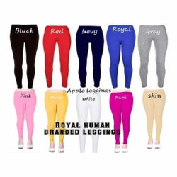 ROYAL HUMAN Straight Fit Ladies Cotton Leggings