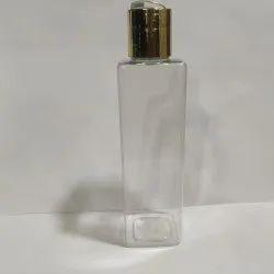 200ml Square Pet Bottle with Flip Top Cap
