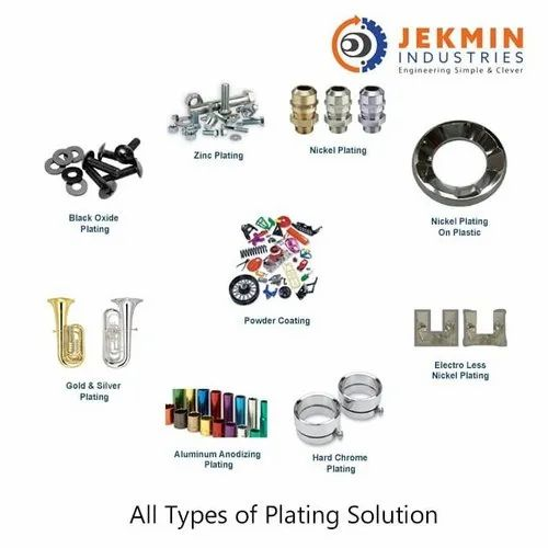 All Types of Plating Solutions