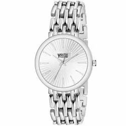 Youth Club Men Silver Dial Watch, Size: Medium, Model Name/Number: BR-281SIL
