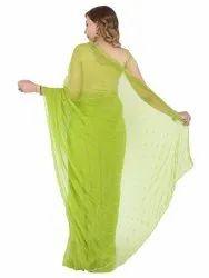 Causal Wear Georgette Printed Saree