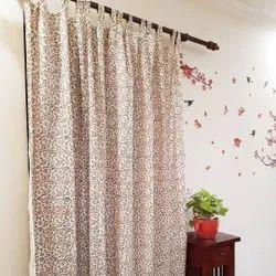 Printed Cotton Kitchen Window Curtain, Size (centimetre): 110 X 220 Cm