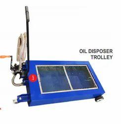 Oil Disposer Trolley