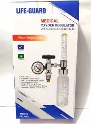 Medical Oxygen Regulator Flometer with Humidifier Bottle