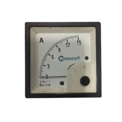 Square Shaped DC Meter