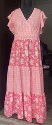 Cotton Regular Wear Summer Dress