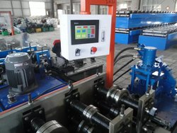 Perforated Garage Door Machine Factory