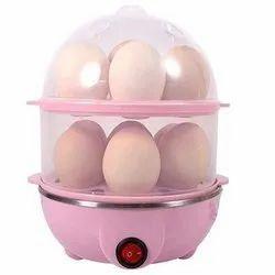 Electric 2 Layer Egg Boiler Cooker & Steamer & 14 Egg Poacher Steamer & Egg Cooker Boiler