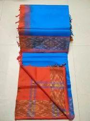 6.20mtr pochamapally border Tirupur Handloom Saree, With Blouse Piece