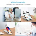 Adjustable Laptop Stand/Portable Laptop Desk- Aluminum Folding Laptop