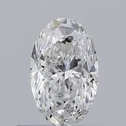 Oval 0.50ct E SI2 Natural HPHT IGI Certified Natural Diamond