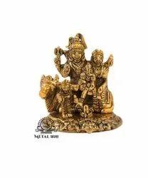 Shiva Parvati And Ganesh Statue