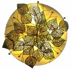 Colour Changing Round Iron Wall Decor LED, For Decoration