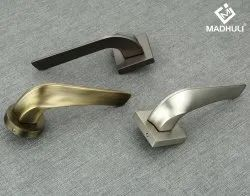 Half Turned Zinc Mortise Handle Wise Square Customized Rosette-70