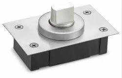 Secure Design Floor Spring Bottom Bearing Patch Pivot Hinge For Swing Glass Door APF-09