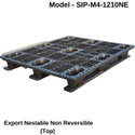 Swift Export Euro Non Reversible Cargo Pallet, For Industrial, Capacity: Static : 2000 Dynamic : 1000