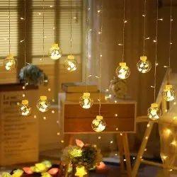 New year decorative buld curtain light