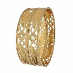Traditional Gold Plated Bangles, Festivals, Jewellery Type: Artificial