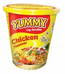 Yummy Chicken Flavour Cup Noodle, Packaging Size: 65 Gm