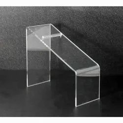 Transparent Acrylic Shoe Stand