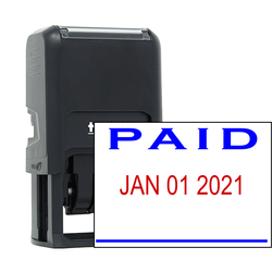 Paid Stamp With Date