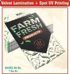 72 Hours Velvet Printing Services